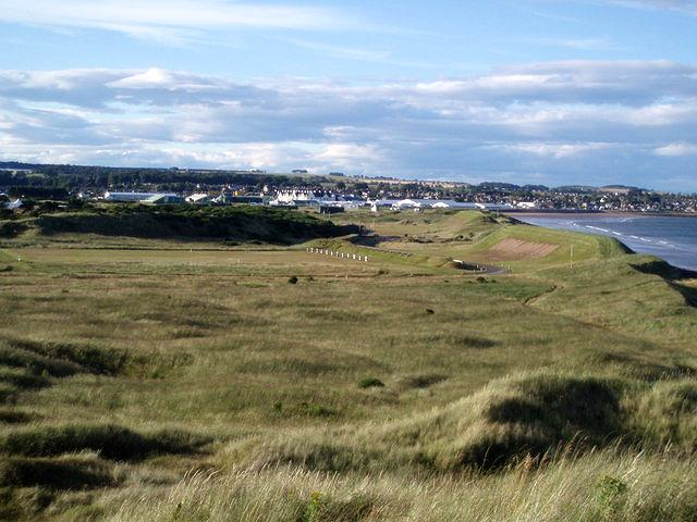 Targets with Carnoustie behind, 2007