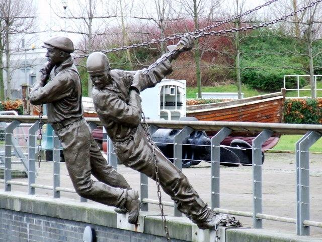 Clydebuilt statues, 2008