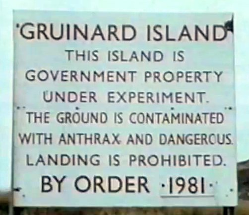 Gruinard Sign 1981 film clip, 1981