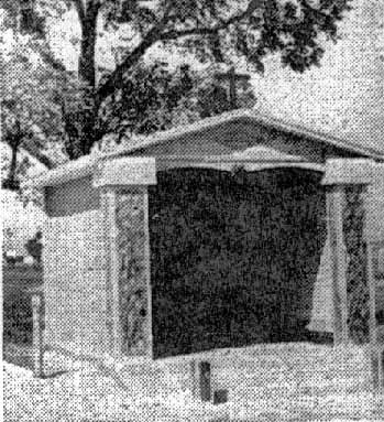 Chapel being built