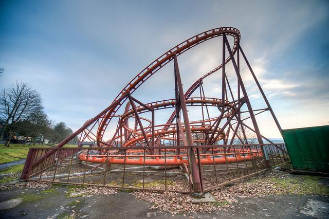 Twist'n'Shout roller coaster, 2011