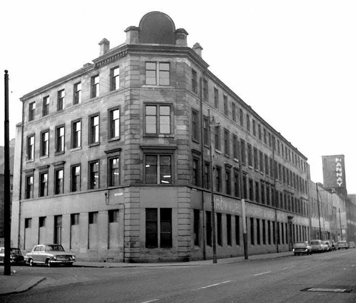 Singer Factory, 116 James Street, Bridgeton, Glasgow,