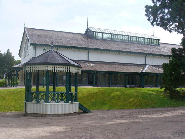 Pavilion and bandstand, 2011